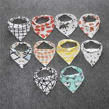 Baby Kids Lovely Lunch Bibs Feeding Saliva Towel Dribble Triangle Bandana Bibs
