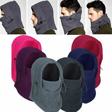 Best Fleece Winter Thermal Balaclava Swat Ski Motorcycle Bike Face Mask Hood Hat