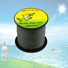 Pro Top Grey 100-1000M 6-300LB 100% PE Dyneema Power Super Braid Fishing Line
