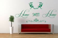 Home Sweet Home Quote - Vinyl Wall Art Sticker Decal Mural. Home, Wall Decor.