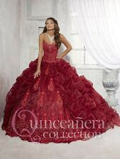 Dark Red Fantastic Sweetheart Attracting New Quinceanera Dresses Custom Made