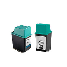 Remanufactured Ink HP 51625 HP 25 + HP 51626 HP 26 For HP DesignJet 200 220