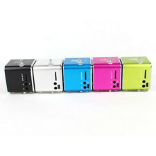 Portable Mini TD-V26 LED Music Stereo Media Speaker Micro SD TF USB FM MP3
