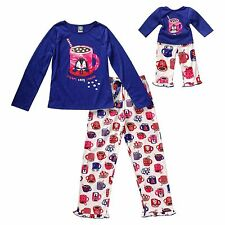 "Girl and Doll Matching Pajamas Set Cocoa 4-14 Dollie & Me fits 18"" American Girl"