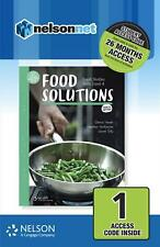 Food Solutions: Food Studies Units 1 & 2 1-Code Access Card by Heather McKenzie