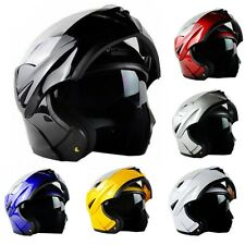 2017 NEW 6 Colors DOT Dual Visor Flip Up Motorcycle Helmet Motocross Full Face