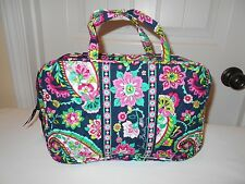 VERA BRADLEY NEW WITH TAG Petal Paisley  GRAND COSMETIC