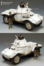 GERMAN WW2 WINTER PANHARD ONLY 200 MADE KING & COUNTRY WS195 LONG RETIRED