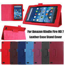 Case For Amazon Kindle Fire 7 2015 Tablet Magnetic Leather Stand Case Cover New