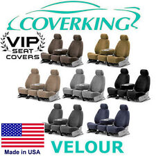 Coverking Velour Custom Seat Covers Lincoln Town Car