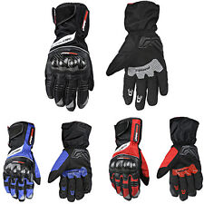 Men Motorcycle Gloves Full Finger Motorbike Glove Cycling Racing Sports Guant