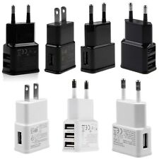1A/2A USB Power Wall Charger Adapter Travel EU/US Plug For Samsung iPhone HTC LG