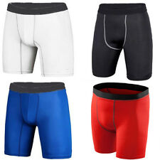 Men Compression Shorts Base Layer Under Armour Tight Sports Pants Shirt Top Long