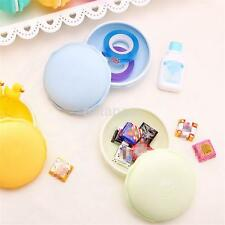 Portable Candy Color Large Cute Macaron Storage Box For Jewelry Earring Box US