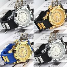 New Cool Fashon Men's Quartz Watch Large Dial Silicone Band Wristwatch Hot SM