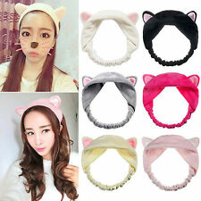 Cat Ears Hairband Head Band Headdress Hair Accessories Makeup Tool New Arrival