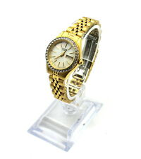 Citizens Women Watch 1002-S044456 Water Resistant GoldTone Date/Day