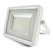 LED FLOODLIGHT Ultra Slim 10-600W Outdoor Garden Security Lamp IP65 SMD White