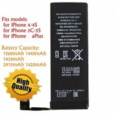 1560mAh Li-ion Battery Replacement with FlexCable for iPhone 4/5S/5C/6plus LOT X