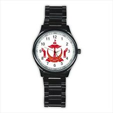 Emblem of Brunei Stainless Steel Sport Watch - Tabard Surcoat