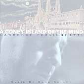 A  Coney Island of the Mind by Lawrence Ferlinghetti (CD, Sep-1999, Ryko Dist...