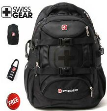 "SwissGear Nylon laptop backpack 15"" Macbook Schoolbag Travel bags Hiking bag"