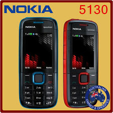 Classic Genuine Unlocked Nokia 5130 Mobile Phone - Red Blue Manufacturer Direct
