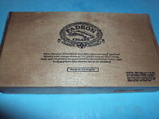 PADRON 5000 Empty Wooden Cigar Box! Excellent Free Shipping