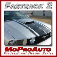 FASTBACK 2 - 3M Pro Grade BOSS Style Mustang GRAPHICS Stripes Decal 2006 104