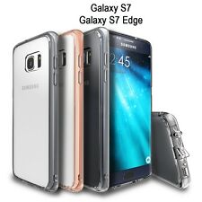 360° ShockProof Gel TPU Protective Clear Case Cover Fr Samsung Galaxy S7,S7 Edge