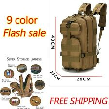Outdoor Military Backpack 30L Tactical Camping Hiking Trekking Bag Men Sport