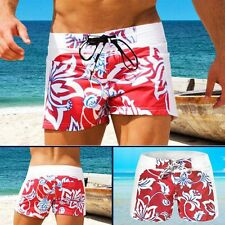 Men's Beach Shorts Swimming Swim Trunks Holiday Floral Pants Swimwear Pants
