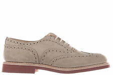 CHURCH'S MEN'S CLASSIC SUEDE LACE UP LACED FORMAL SHOES NEW DOWNTON BEIGE 3A9