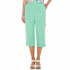 Alfred Dunner Acapulco Mint Capris Size 8 Msrp $48.00 New