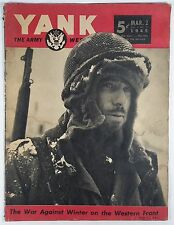 YANK Weekly March 2, 1945 June Haver ~ Winter War ~ Luzon ~ GI Equipment