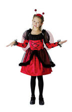 Childrens Ladybug Costume Girls Ladybird Fancy Dress Animal Insect Outfit