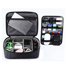 Portable Waterproof Universal Travel Case Electronics Accessories Storage Bags
