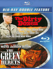 Dirty Dozen / Green Berets (Blu Ray) *New,Sealed*