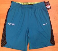 Nike Dri-Fit Elite Men's Basketball Athletic Shorts Green Size S, L,XL MSRP $50