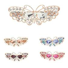 Women Hair Accessories Barrettes Rhinestone Hair Clips Butterfly Hair Barrettes