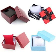 New Bangle Watch Jewelry Gift Box Display Case with Cushion Foam Pad Virtuous