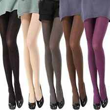 Ladies Warm Winter Opaque Footed Tights Long Pantyhose Stockings Socks 14 Color