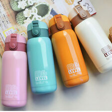 Stainless Steel Vacuum Thermos Mug Bounce Water Bottle Sport Travel Cup 280ml