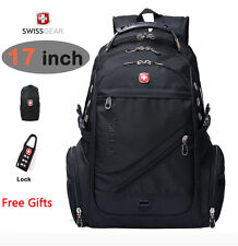 "SwissGear Multifunctional laptop backpack Hiking bag 15"" 17"" Macbook Schoolbag"