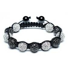 Bling Jewelry Shamballa Inspired Crystal Ball Bracelet 12mm