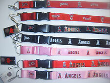 2016 MLB LOS ANGELES ANGELS OFFICIAL LICENSED BREAKAWAY LANYARD KEYCHAIN SPORT