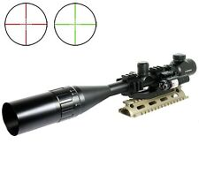 New 6-24x50AOEG Optical Rifle Scope And Laser Sight Combo PEPR Cantilever Mount