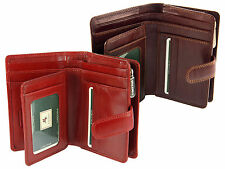 Visconti Multi Compartment Ladies Italian Leather Purse Wallet Gift Boxed - MZ11