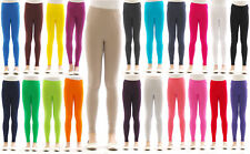 Kinder Girls Leggings Long trousers pants From Cotton opaque skin-tight Leggings