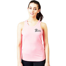 Horizon Bay Womens Sports Vest Racer Back Bodycon Muscle Vest Gym Running Top